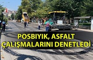 Ereğli'ye 100 bin metrekare asfalt döküldü...
