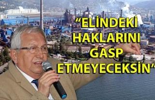 Halil Posbıyık: ''Eğer inat ederlerse,...