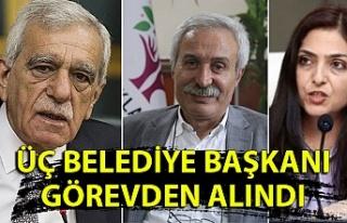 İçişleri Bakanlığı: Diyarbakır, Mardin ve Van...