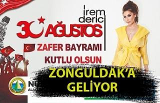 İrem Derici Zonguldak'a geliyor