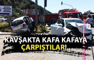 Kazada çok sayıda yaralı var...