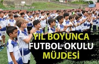 Kdz. Ereğli Belediyespor Yaz Futbol Okulu öğrencileri...