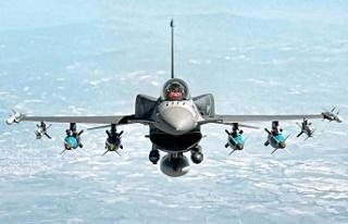 Türk askeri Kuzey Irak'taki hedefleri yerle...