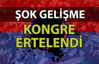 Zonguldak Kömürspor'un olağanüstü kongresi...