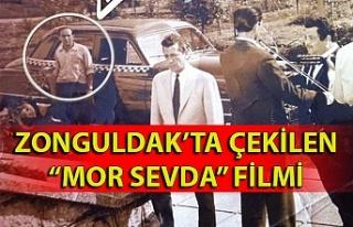 Zonguldak'ta çekilen ''Mor Sevda''...