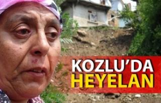 Zonguldak'ın Kozlu ilçesinde dün yaşanan kuvvetli...