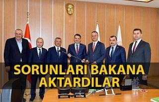 AK Parti Zonguldak heyeti Bakan Pakdemirli ile görüştü