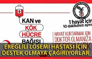 Beşiktaşlı taraftarlar kan ve kök hücre bağışı...