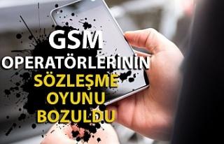GSM operatörlerinin yıllardır uyguladığı sözleşme...