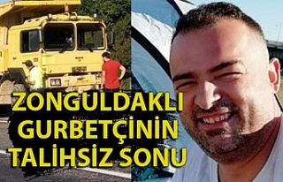 Gurbetden Zonguldak'a döndü, arabanın altında...