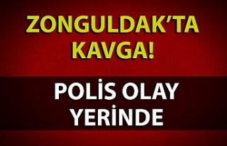 KAVGA! POLİS OLAY YERİNDE...