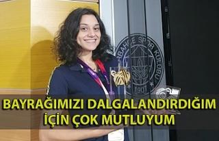 """Milli atletizm sporcusu Melike Malkoç: """"Bayrağımızı..."""