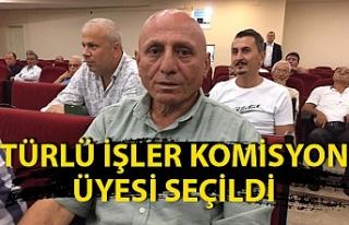 Osman Bekaroğlu Türlü İşler Komisyon Üyesi seçildi