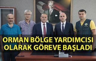 Pınar göreve başladı