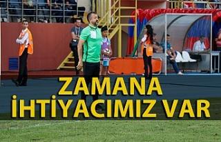 Teknik Direktör Amed Sportif maçını değerlendirdi...