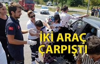 Trafik kazası: 3 yaralı!