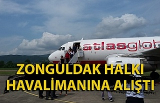 Ağustos ayında Zonguldak uçaklarının dolululuk...
