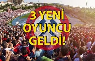 Zonguldak Kömürspor'dan bir günde üç transfer