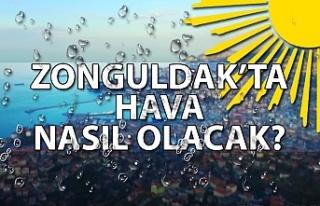 Zonguldak'ta hava nasıl olacak?