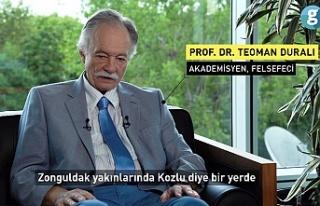 Zonguldaklı tanınmış profesör doğduğu şehri...