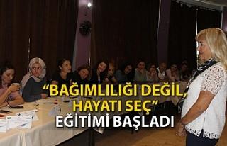 """Zonguldak'ta """"Bağımlılığı değil, hayatı..."""