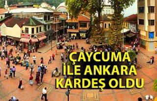 Çaycuma İle Ankara kardeş oldu