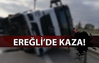 Ereğli Zonguldak Yolunda Kaza...1 yaralı