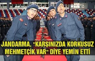 """""""Karşınızda korkusuz Mehmetçik var""""..."""
