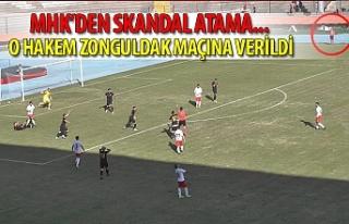 MHK'den skandal atama... O hakem Zonguldak maçına...
