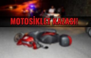 Motosiklet Kazası!