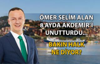 Ömer Selim Alan 8 ayda Akdemir'i unutturdu......
