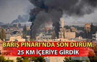 Son dakika… Barış Pınarı Harekâtı'nda son...