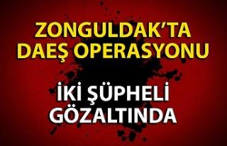 Zonguldak'ta 2 DAEŞ şüphelisi adliyede