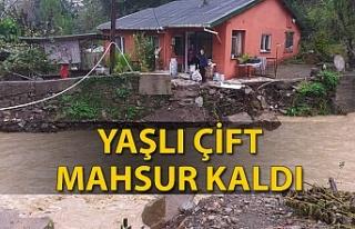 Zonguldak'ta sağanak yağış