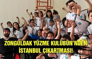 Zonguldak Yüzme Kulübü'nden İstanbul Çıkartması!