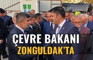 ÇEVRE VE ŞEHİRCİLİK BAKANI MURAT KURUM ZONGULDAK'A...