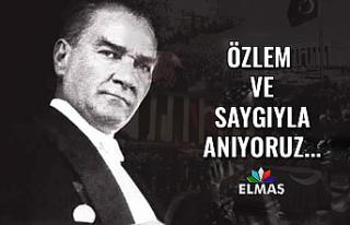 Gazi Mustafa Kemal Atatürk'ü ölümünün 81....