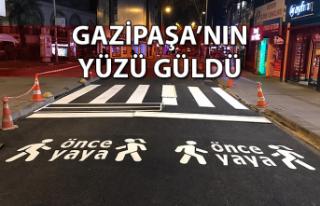 GAZİPAŞA'NIN YÜZÜ GÜLDÜ