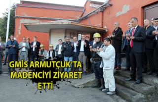 GMİS Yönetim Kurulu Armutçuk'u ziyaret etti.