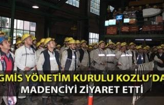 GMİS Yönetim Kurulu Kozlu'da Madenciyi Ziyaret...