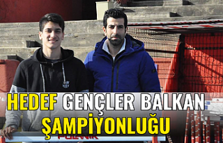 Hedef Gençler Balkan Şampiyonluğu
