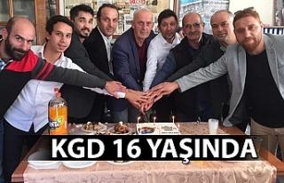 KGD 16 YAŞINDA