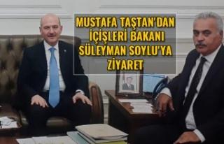 Mustafa Taştan'dan İçişleri bakanı Süleyman...
