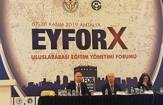 ZBEÜ, Antalya'da EYFOR-X Uluslararası Eğitim...