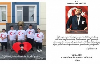 Zonguldak'ta 10 Kasım Atatürk'ü anma...