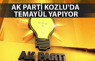 AK Parti Kozlu'da temayül yapıyor