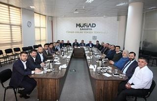 """Başkan Çınar: """"Şubeler arasında ticaretin arttırılması..."""