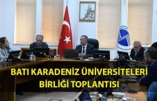 Batı Karadeniz üniversiteleri birliği toplantısı