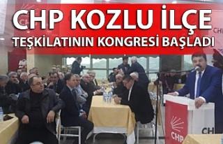 CHP Kozlu İlçe Teşkilatının kongresi başladı