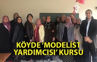 Köyde 'Kadın Giyim Modelist Yardımcısı'...